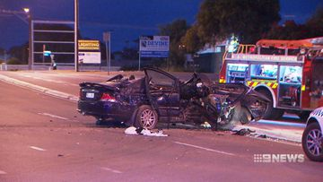 Teen driver of crashed stolen car in critical condition