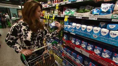 Mum of three Helen was able to find healthy choices for her budget.