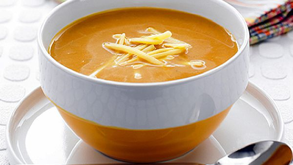 Roasted root vegie soup