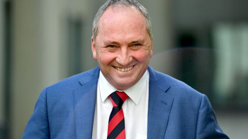 Barnaby Joyce is challenging for a return to his former job.