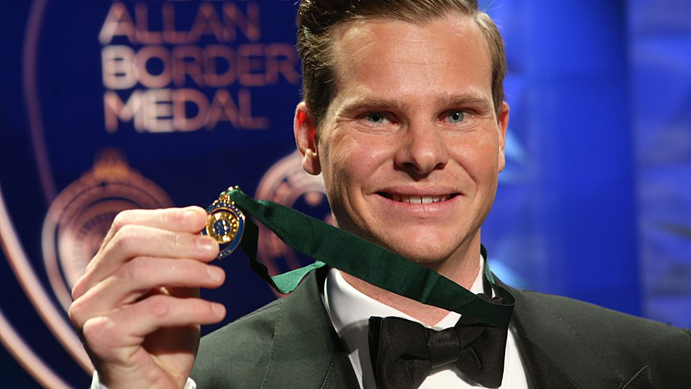 Allan Border Medal 2018: Steve Smith and Ellyse Perry win top cricket awards