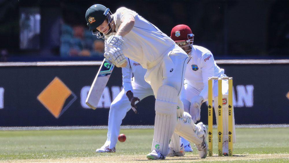 Voges outshines Gilly in Hobart Test