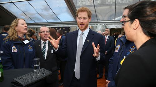 Prince Harry launched the Invictus Games at Admiralty House last June. (AAP)