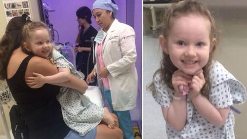 Annabelle Potts had a two-year battle with a rare brain cancer.