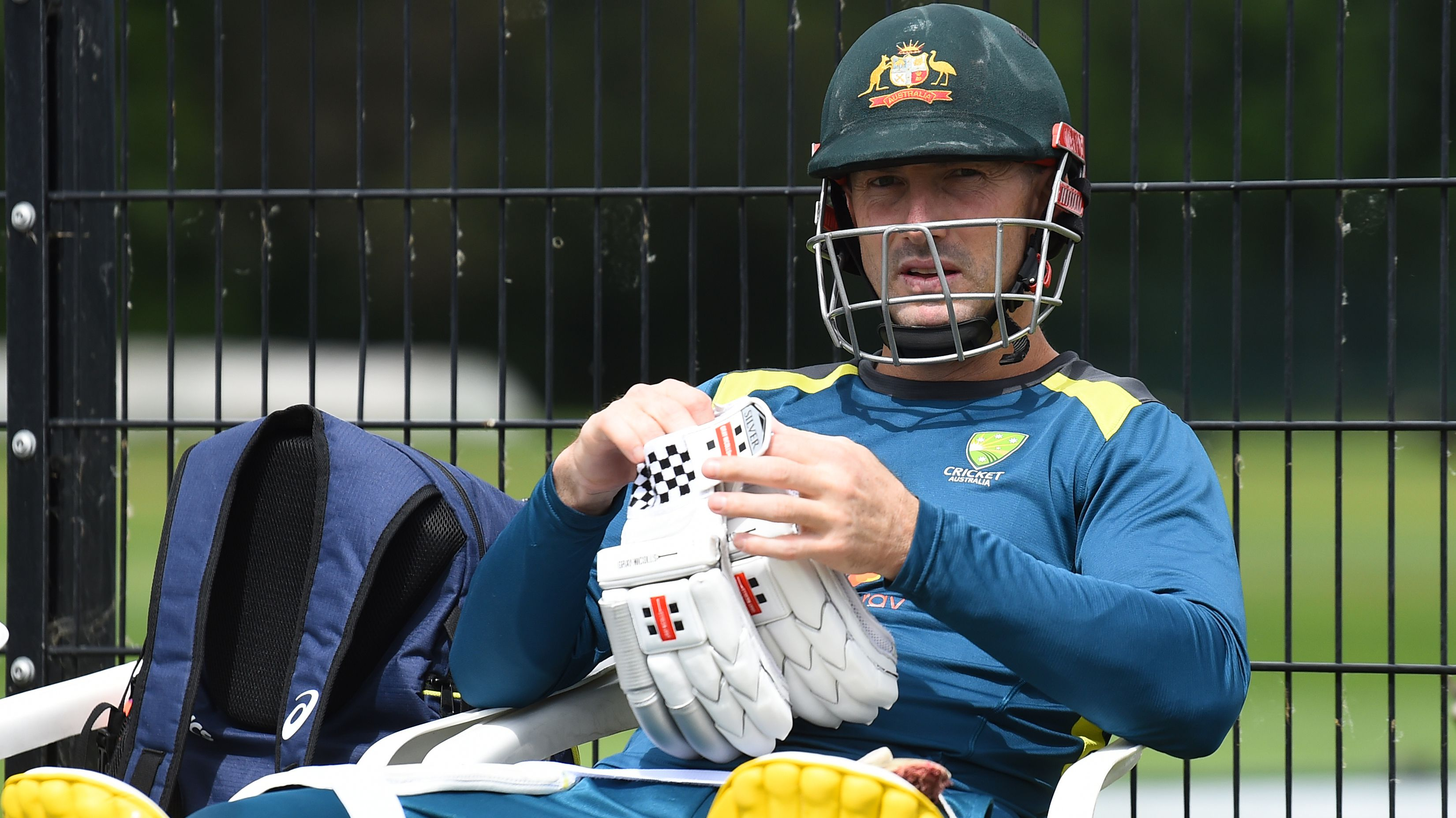 Justin Langer confirms Shaun Marsh in contention for opening spot against India