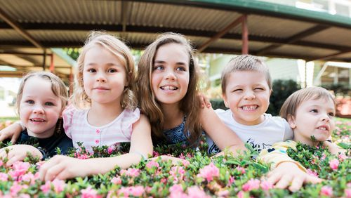 Ms Fragakis believes the Australian government should devote more funding to supporting services like the Kids' Therapy Club.  (Claire Elise Photography)