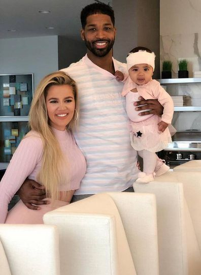 Khloé Kardashian, Tristan Thompson and True Thompson