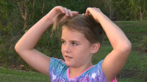 A brave nine-year-old girl has told how she hit her head as she was sucked down a storm water drain in Queensland. (TODAY)