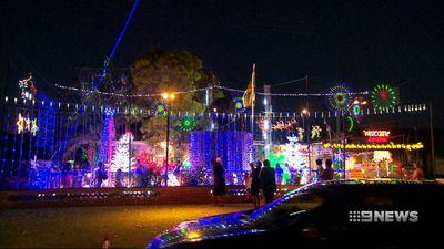 Perth's longest running Christmas lights show in jeopardy