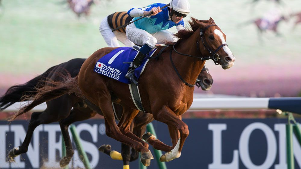 Hugh Bowman wins Japan Cup on Cheval Grand to secure title of world's leading jockey