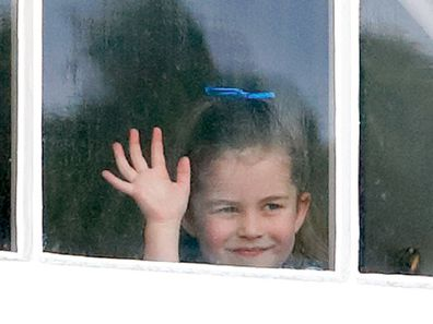 Princess Charlotte sported two hairstyles for the event.