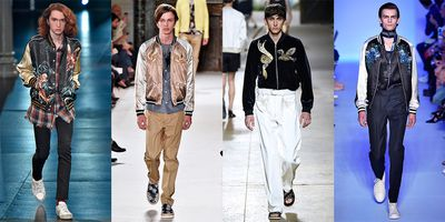 We wanted to date all the boys on the recent Menswear runways, if only to borrow their jackets.