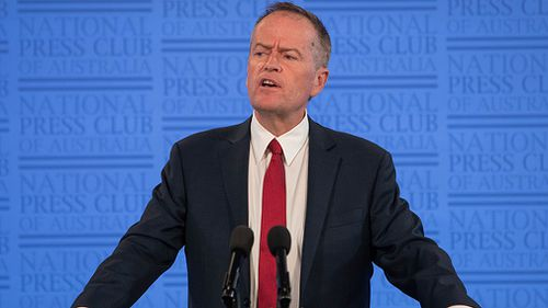 "Federal Opposition leader Bill Shorten has said the Labor Party will ""restore trust, accountability and transparency in the public sector"" with an anti-corruption commission if it wins the next election (AAP)."