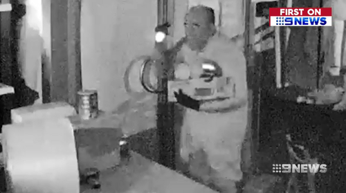 The group were seen on CCTV brazenly stealing baby formula from the Point Cook warehouse, returning five times in two months.