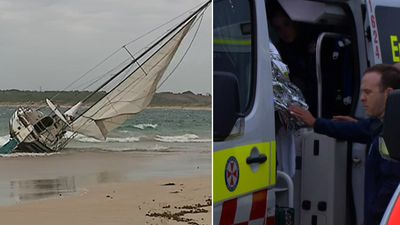 'Remarkable she got to shore' woman survives fatal yacht capsize