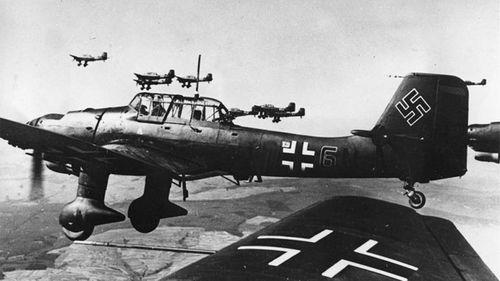 German Stuka pilots nicknamed Pervitin 'Stuka pills'.