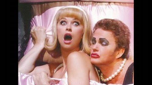 Christie Whelan Browne and Craig McLachlan in a promotional image.