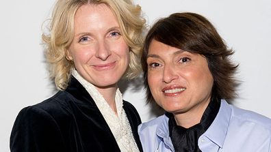 Elizabeth Gilbert with partner Rayya Elias