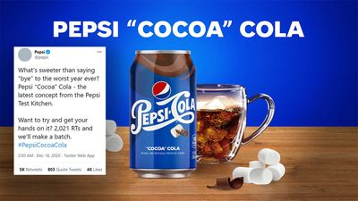 Pepsi tease new 'Cocoa Cola' flavour with chocolate and marshmallow