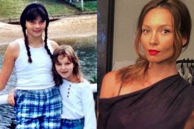 THEN: Even pop-diva Ricki-Lee had her daggy moments.<br/><br/>NOW: When she's not hitting up the gym, or laying down music tracks, Ricky-Lee posts glam party selfies.