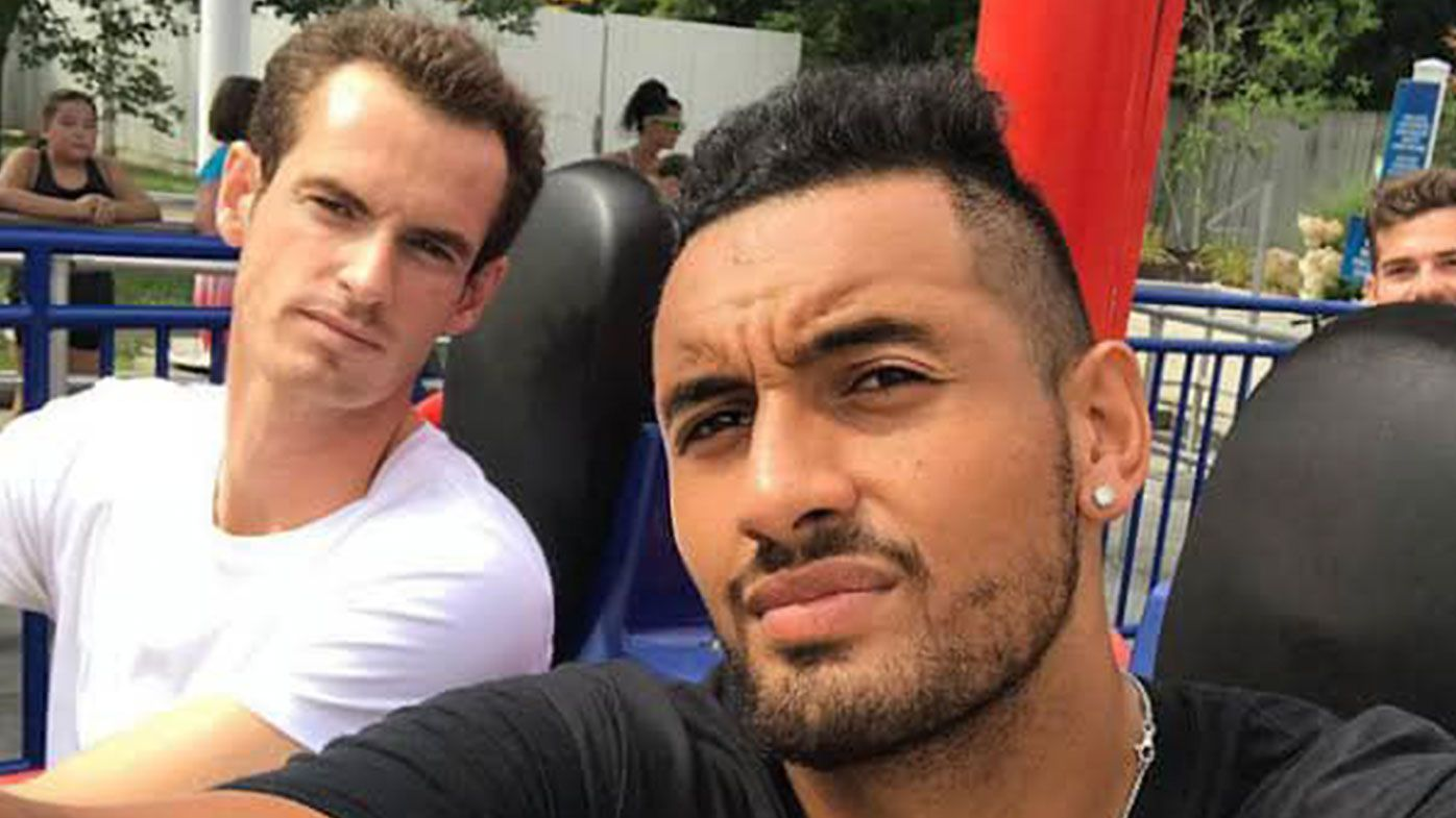 Nick Kyrgios' heartfelt message to Andy Murray after emotional presser