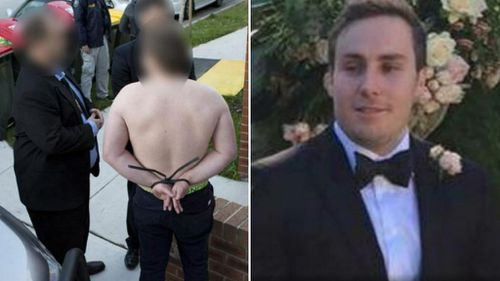 Adam Cranston, 30, was arrested for his alleged part in a multi-million dollar crime syndicate. (AFP/Facebook)