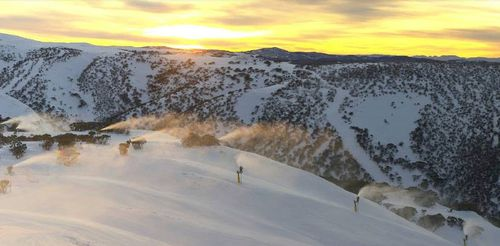 More snow is expected in the Australian Alps.