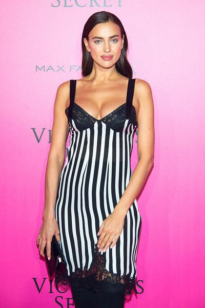 Irina Shayk at the Victoria's Secret after party in Paris.
