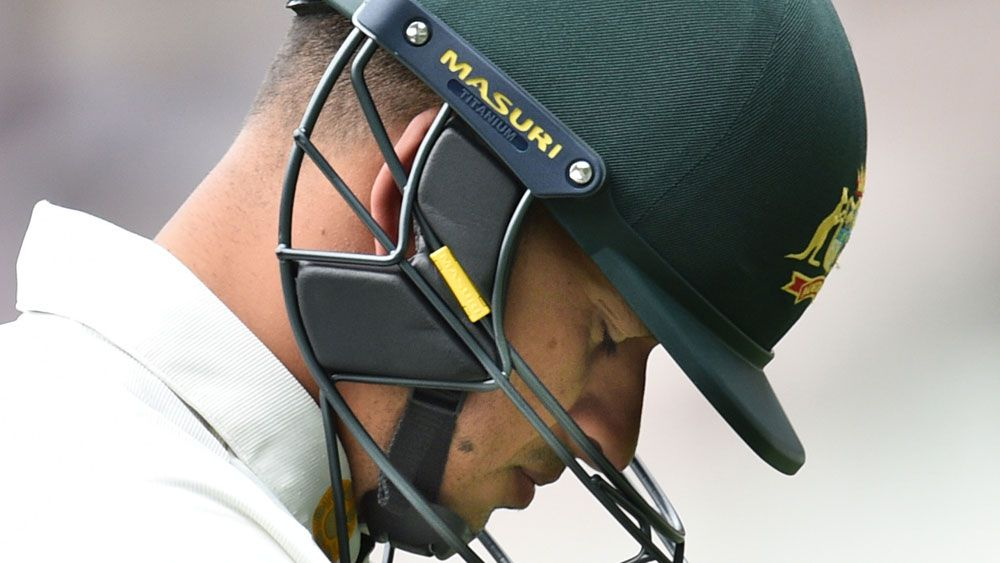 Usman Khawaja says he's learnt to roll with the punches.