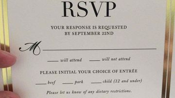 The macabre and cannibalistic wedding invitation. (Reddit)