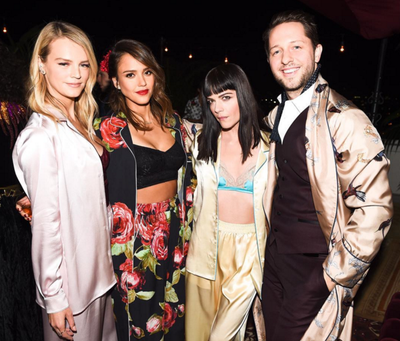 Kelly Sawyer, Jessica Alba, Selma Blair and Derek Balsberg