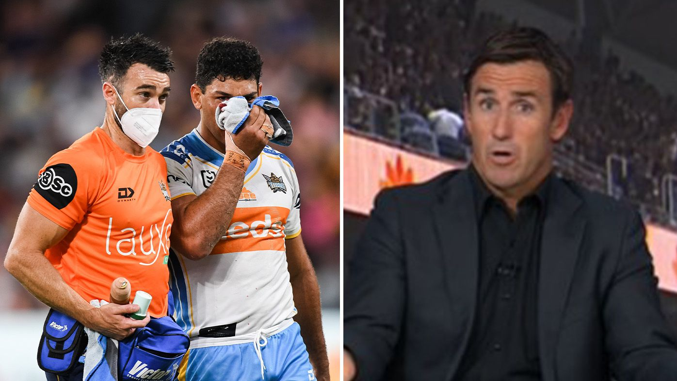 'He cannot disappear': Andrew Johns roasts NRL officials as Sam Verrills fears finals ban
