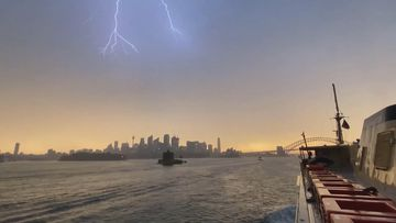 Thousands remain without power after ferocious storm lashes Sydney