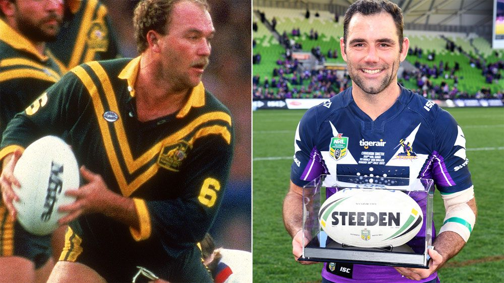 Peter Sterling says Cameron Smith's ability to control a match better than Wally Lewis