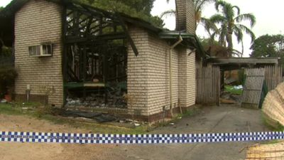 Notorious Melbourne home gutted by fire