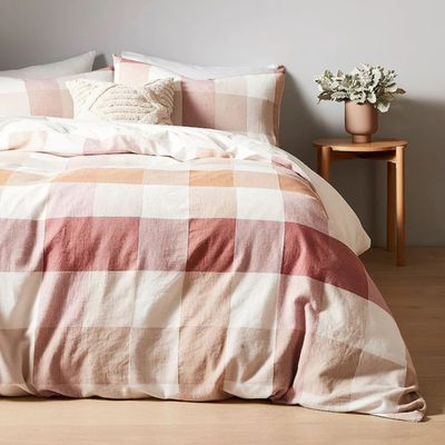 Giselle Check Quilt Cover Set — Target