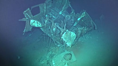 US destroyer lost during World War II discovered in Philippine Sea
