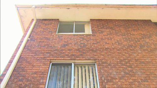 The five-year-old boy had fallen from a third-floor bedroom window. (9NEWS)