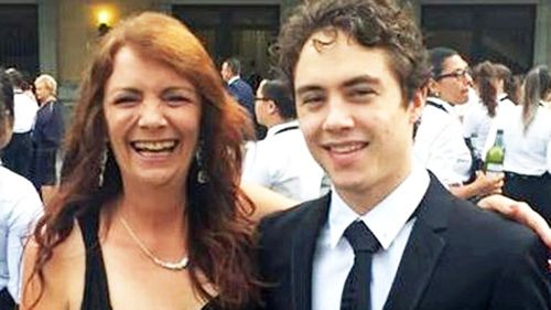 Kath Madgwick, pictured with her son Jarrad.