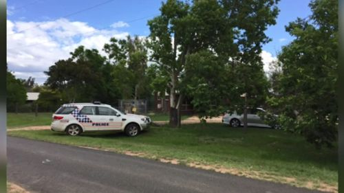 Police found drugs and weapons at the Helidon home. (9NEWS)