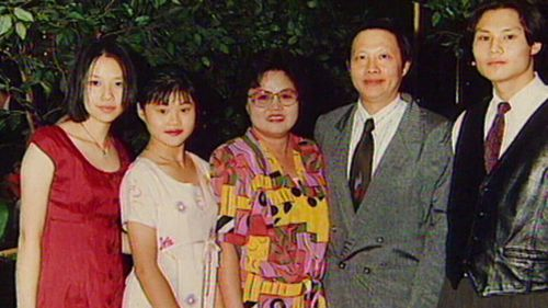 Quanne Diec's family. (Supplied)