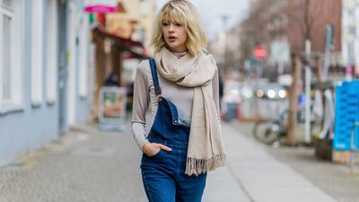 "<p>Combining the effortlessness of your favourite throw-on dress and the comfort of your most reliable pair of jeans, the denim overall makes chic work of the daily wardrobe #struggle.</p> <p>For winter, layer over fine knitwear, perhaps leaving a strap undone for added intrigue. As the weather gets warmer, choose a style that has more coverage and go <em>sans</em> shirt - if you dare.</p> <p>Take some tips from street style's finest and shop our pick of the ten best overalls.<em style=""font-style: italic;""></em></p>"