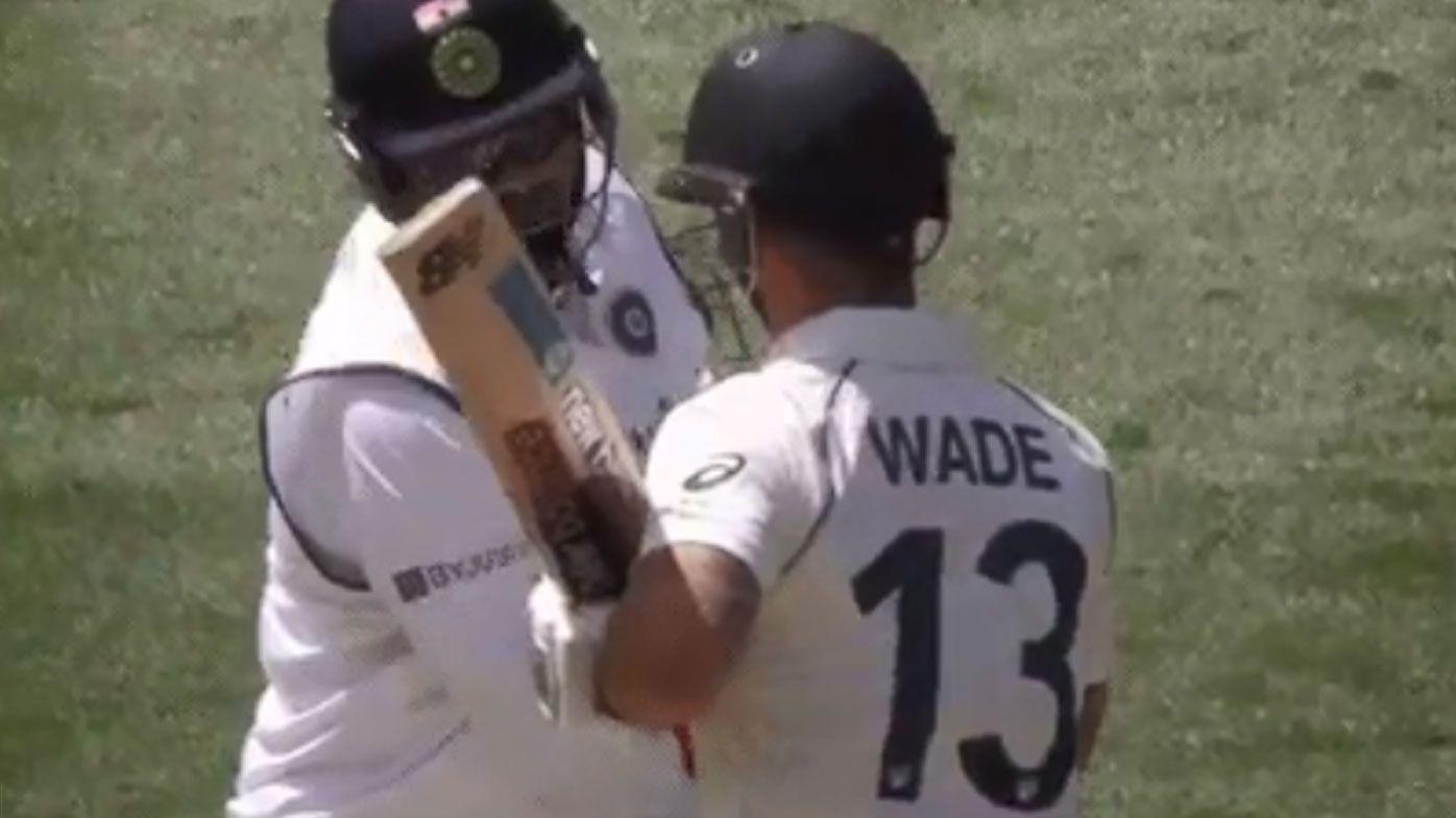 '25 kilos overweight': Rishabh Pant gets under Matthew Wade's skin in tense Test match