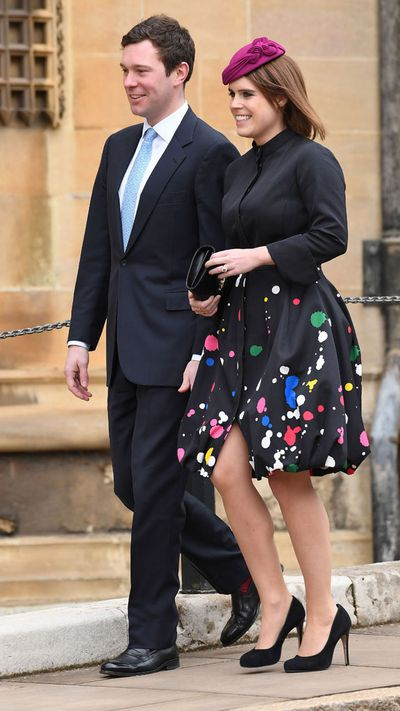 Princess Eugenie with fiance