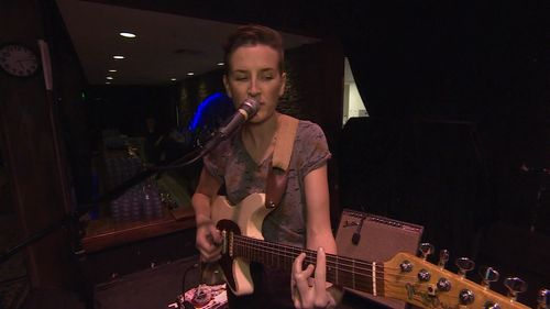 Her nine years on the road in America, with occasional visits to Australia, taught her success is hard earned. (9NEWS)