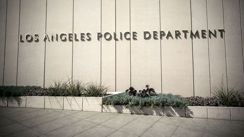 LAPD officer allegedly caught on body cam fondling dead woman's breasts