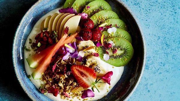 Breakfast Bowls by Caroline Griffiths