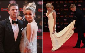 Brownlow Medal 2017: AFL stars and partners hit the red carpet