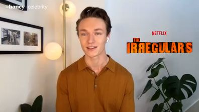 Harrison Osterfield who plays Leo in The Irregulars on Netflix