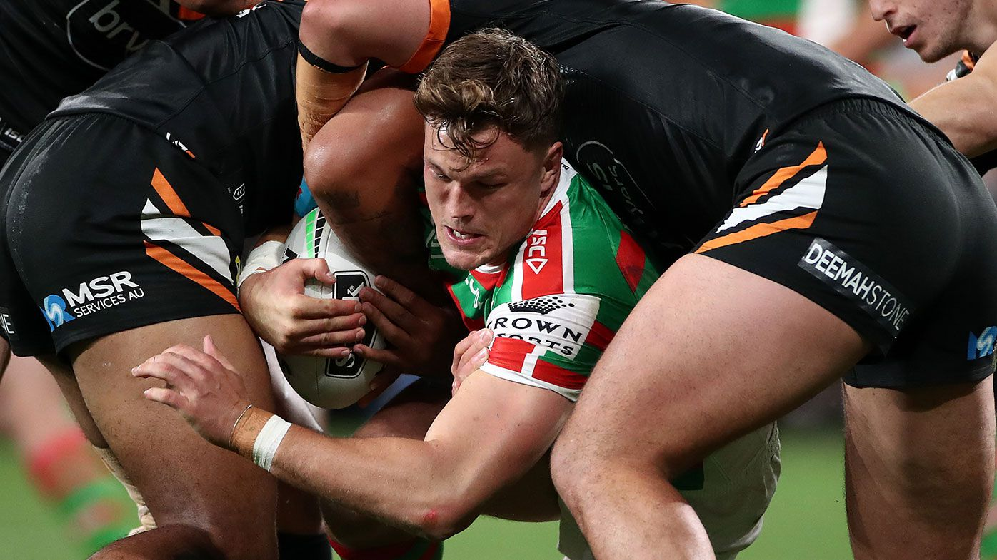 Wests Tigers vs South Sydney Rabbitohs live NRL scores: Moses Mbye Joey Leilua late outs for Tigers – Wide World of Sports
